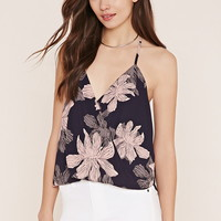 Contemporary Floral Halter