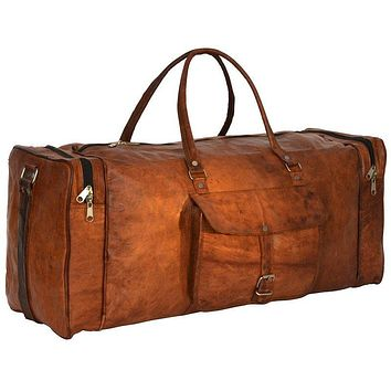 Traveling Leather BEST LEATHER DUFFEL BAG