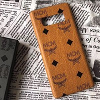 Perfect  MCM Phone Cover Case For  iphone 6 6s 6plus 6s-plus 7 7plus 8 8plus  Samsung Galaxy s8 s8Plus s9 s9Plus note 8/9