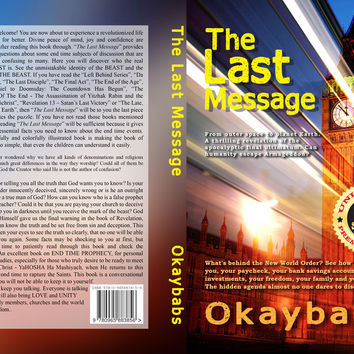 The Last Message (376 page book - to be published in 2020)