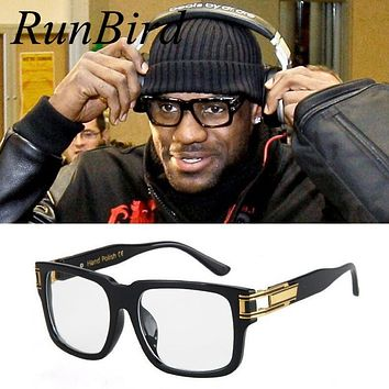 Lebron James Sunglasses Men Women Brand Designer Sun Glasses Celebrity Hip Hop Sunglasses Men's Steampunk Oculos De Sol R098