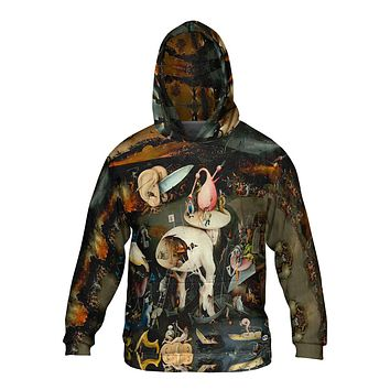 Yizzam Allover Print Mens Hoodie Sweater Figure Skating Pride