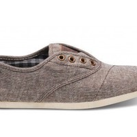 Women - Brown Metallic Woven Women's Cordones | TOMS.com
