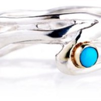 Seagrass Ring, Turquoise, Bands