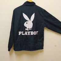 PlayBoy windbreaker big logo vintage rare