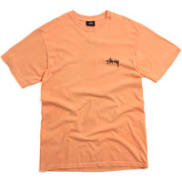 Drag On Pigment Dyed T-Shirt Orange