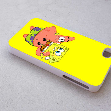 spongebob case for iPhone 4/4s/5/5s/5c/6/6+ case,iPod Touch 5th Case,Samsung Galaxy s3/s4/s5/s6Case, Sony Xperia Z3/4 case, LG G2/G3 case, HTC One M7/M8 case