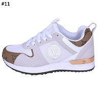 LV tide brand men and women models wild mesh breathable sneakers #11