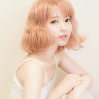 Short Curly Cosplay Wig
