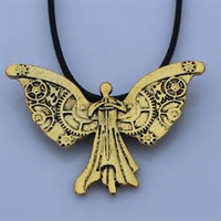 The Mortal Instruments City of Bones The Infernal Devices Tessa's Clockwork Angel Pendant necklace