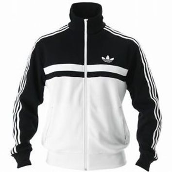 ADIDAS ADICOLOR ICON TRACK TOP JACKET Black-White firebird old school new