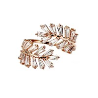 fashion crystal inclusive ring