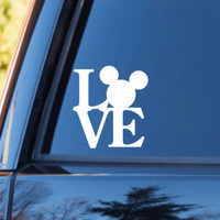 Love Disney Decal | Disney Stickers | Disney Decal | Disney Vacation | Love Sticker | Love Decal  | Car Decal | Car Stickers | Bumper | 144