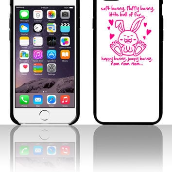 soft bunny, fluffy bunny, little ball of fur... 5 5s 6 6plus phone cases
