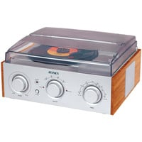 Jensen Stereo 3-speed Turntable With Am And Fm Receiver & 2 Built-in Speakers