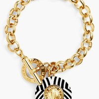 MARC BY MARC JACOBS 'Charmed Pattern Coin' Charm Bracelet