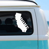 California State Vinyl Decal Sticker - Car Sticker - Window Decal - California Home