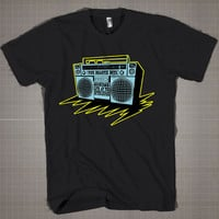 THE BEASTIE BOYS Radio Tape  Mens and Women T-Shirt Available Color Black And White