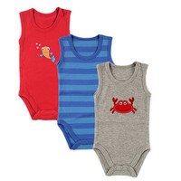 Hudson Baby Hanging Bodysuits 3 Pack | Affordable Infant Clothing