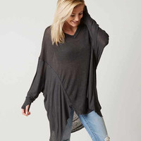 FREE PEOPLE NEVER GIVE UP OVERSIZED TOP