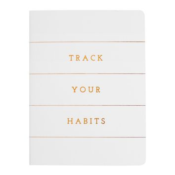 A7 TRACK YOUR HABITS BOOK: INSPIRATION
