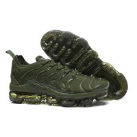 2018 Nike Air VaporMax Plus TN Green Sport Running Shoes - Best Online Sale