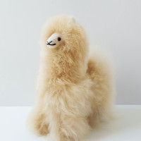 Lorena Alpaca Stuffed Animal