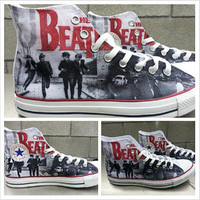 The Beatles Custom Converse All Stars