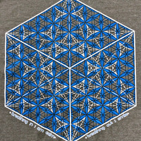 Metatron's cube/flower of life men's organic cotton t-shirt. Limited sizes, small and medium.