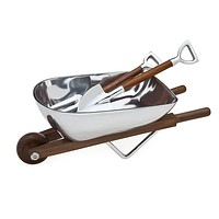 Wheelbarrow Sald Bowl/servers
