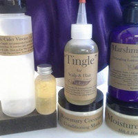 Hair Growth Product Kit for Adults & Kids: For Naturally Coily, Kinky and Curly Hair