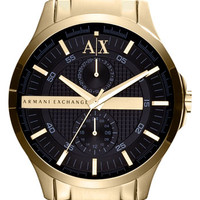 Men's AX Armani Exchange Round Bracelet Watch, 46mm