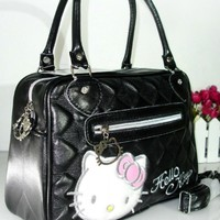 New Hello kitty Hand Bag With Shoulder Strap Purse YE-898B