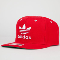Adidas Thrasher Mens Snapback Hat Red One Size For Men 22260430001