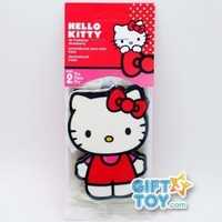 Hello Kitty Car and Home Air Freshener, Strawberry Scent (Pack of 2)