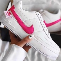AIR FORCE 1 JESTER New fashion hook high quality shoes women White