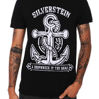 Silverstein A Shipwreck In The Sand Slim-Fit T-Shirt   Hot Topic