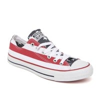 Converse Chuck Taylor All Star Stars & Bars Sneakers - Womens Shoes - Red Stripe