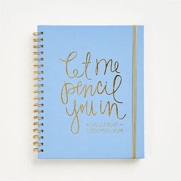 2017-2018 Pencil You In Planner