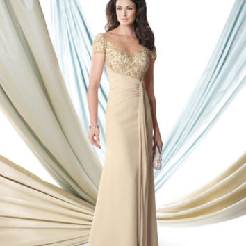 Mother of the Bride Dresses – Montage by Mon Cheri 114922 Short Sleeves