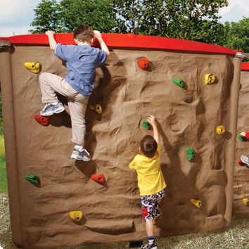 Planet Playgrounds Free Standing Fun Wing Wall