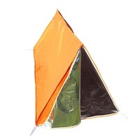 Emergency Tube Tent Survival Outdoor Durable Tube Tent Shelter for Cycling Camping Survival