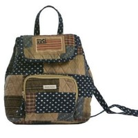 Bella Taylor Patriotic Patch Mini Back Pack