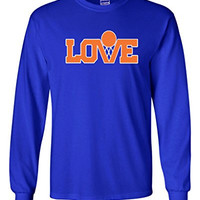 """Long Sleeve Kevin Love Cleveland Cavaliers """"Love"""" T-Shirt ADULT SMALL"""
