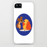 Lady and the Tramp iPhone Case by brokeneggshells | Society6