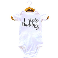 I Stole Daddy's Heart Onesuit