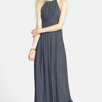 Women's Free People 'In the Moment' Cutout Maxi Dress,