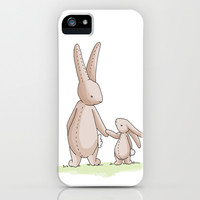 Bunny Love iPhone & iPod Case by Meant for a Moment Designs