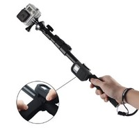 Kootek® Extendable Camera Gopro Pole Mount Telescoping Monopod Selfie Stick Telescopic Extender with Bluetooth Camera Remote Protective Case Attachment Wrist Strap for iPhone 6 6 Plus 5s 5c 5, Samsung S5 S4 S3 Note 2 Note 3, Gopro Hero 4 3+ 3 2 1, DLSR, Di