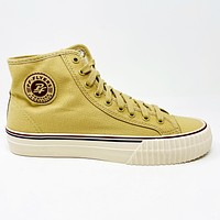 PF Flyers Center Hi Tan White Mens Casual Shoes PM12OH3S